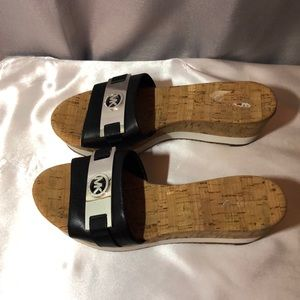 Ladies Michael Kors Wedge Slides